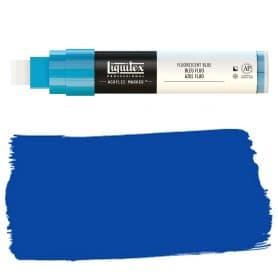 Azul Flúor Liquitex Paint Marker Punta Ancha