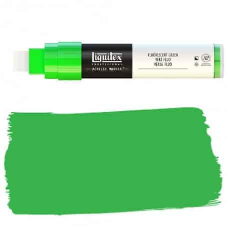 Verde Flúor Liquitex Paint Marker Punta Ancha