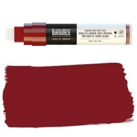 Rojo Cadmio Oscuro Liquitex Paint Marker Punta Ancha