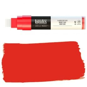 Rojo Flúor Liquitex Paint Marker Punta Ancha