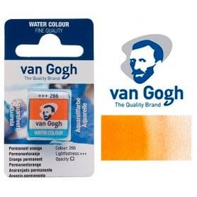 Anaranjado Permanente 266 Pastilla Acuarela Van Gogh