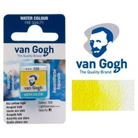 Amarillo Azo Claro 268 Pastilla Acuarela Van Gogh