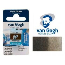 Pardo Van Dyck 403 Pastilla Acuarela Van Gogh