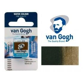 Sepia 416 Pastilla Acuarela Van Gogh