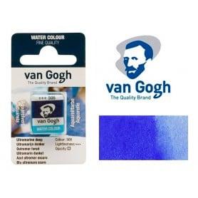 Azul Ultramar Oscuro 506 Pastilla Acuarela Van Gogh