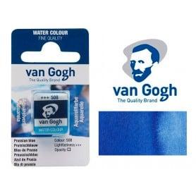 Azul de Prusia 508 Pastilla Acuarela Van Gogh