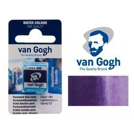 Violeta Azul Permanente 568 Pastilla Acuarela Van Gogh