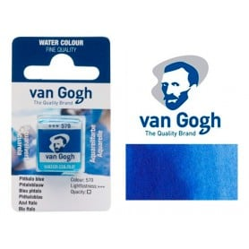 Azul Ftalo 570 Pastilla Acuarela Van Gogh