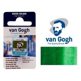 Verde Hooker Claro 644 Pastilla Acuarela Van Gogh