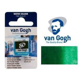 Verde Hooker Oscuro 645 Pastilla Acuarela Van Gogh