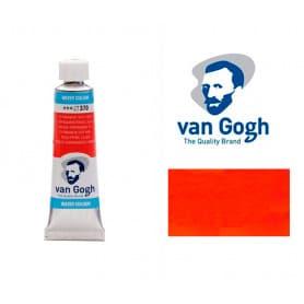 Rojo Permanente Claro 370 Acuarela Van Gogh 10 ml
