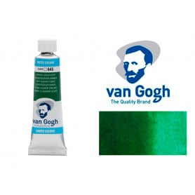 Verde Hooker Oscuro 645 Acuarela Van Gogh 10 ml