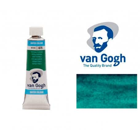 Verde Ftalo 675 Acuarela Van Gogh 10 ml