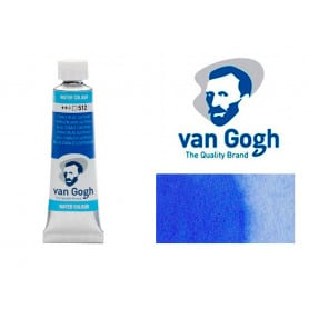 Azul Cobalto Ultramar 512 Acuarela Van Gogh 10 ml