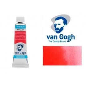 Rojo Permanente Oscuro 371 Acuarela Van Gogh 10 ml