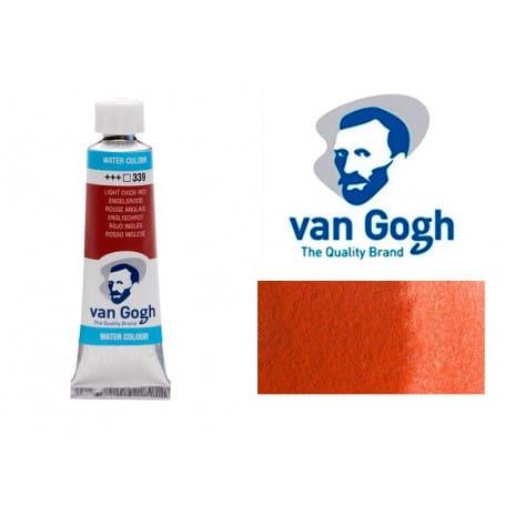 Rojo Inglés 339 Acuarela Van Gogh 10 ml