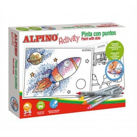 Pinta con Puntos Alpino Activity