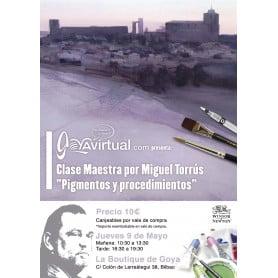 Clase Maestra Miguel Torrús: Pigmentos y Procedimientos