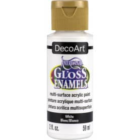 DecoArt Gloss Enamels59 ml DAG01 Blanco