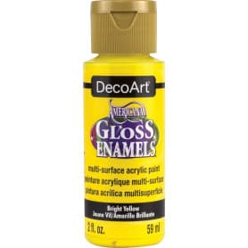 DecoArt Gloss Enamels 59 ml DAG227 Amarillo Brillante