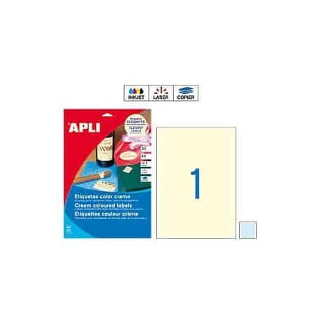 Etiquetas Apli 11845 Azul Pastel 210 x 297 mm
