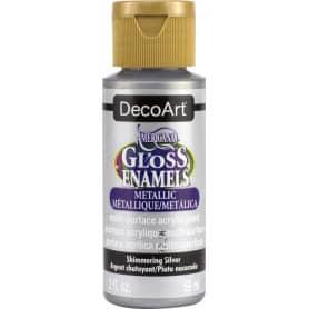 DecoArt Gloss Enamels 59 ml DAG70 Plata Brillante