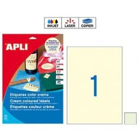 Etiquetas Apli color pastel Medidas 210 x 297