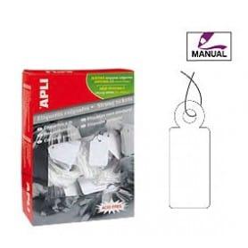 Etiquetas colgantes manuales Apli Medidas 9 x 24 mm