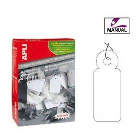 Etiquetas colgantes manuales Apli Medidas 11 x 29 mm
