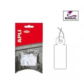 Etiquetas colgantes manuales Apli 7005 Medidas 9 x 24 mm