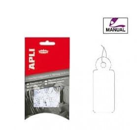 Etiquetas colgantes manuales Apli 7007 Medidas 13 x 34 mm