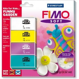 Fimo soft Kits for kids `Funny Garden`