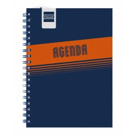 Agenda Espiral Semana Vista Mini Institut Lisa Azul 1/8 Finocam