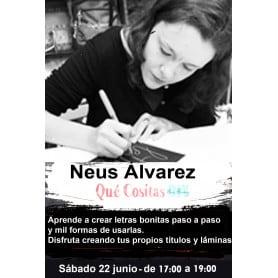 Curso de Lettering 22 junio de 17:00 a 19:00