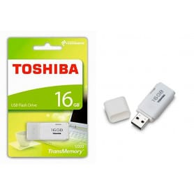 Pendrive Toshiba 16 GB 2.0 blanco
