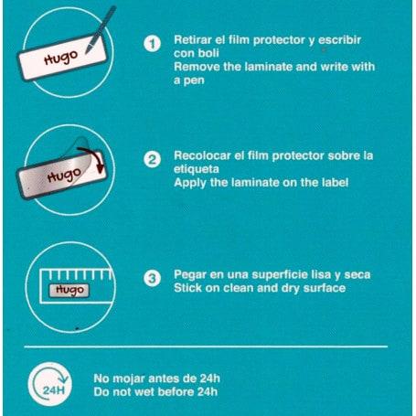 Etiquetas Adhesivas Plastificadas Apli