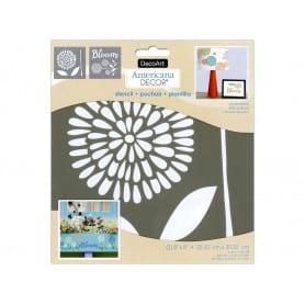 Set 2 Plantillas Flores/Bloom 20 x 20 cm ADS206