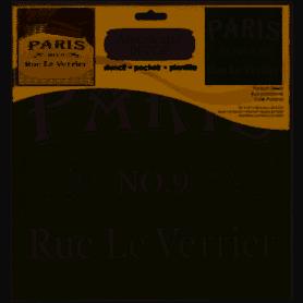 Plantilla Stencil 30,5x 30,5 cm Rue la Verrier