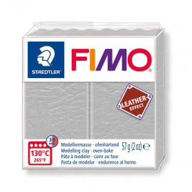 Fimo Leather-Effect Gris Paloma 809