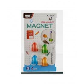 Ganchos Magnéticos de Colores