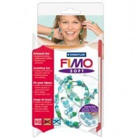 Fimo soft Conjunto de joyeria `Funny Beads`