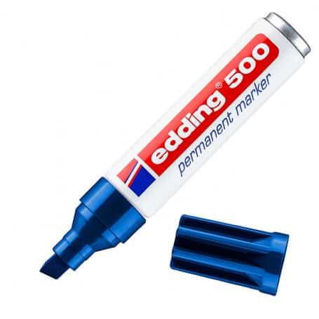 Rotulador Azul Edding 500