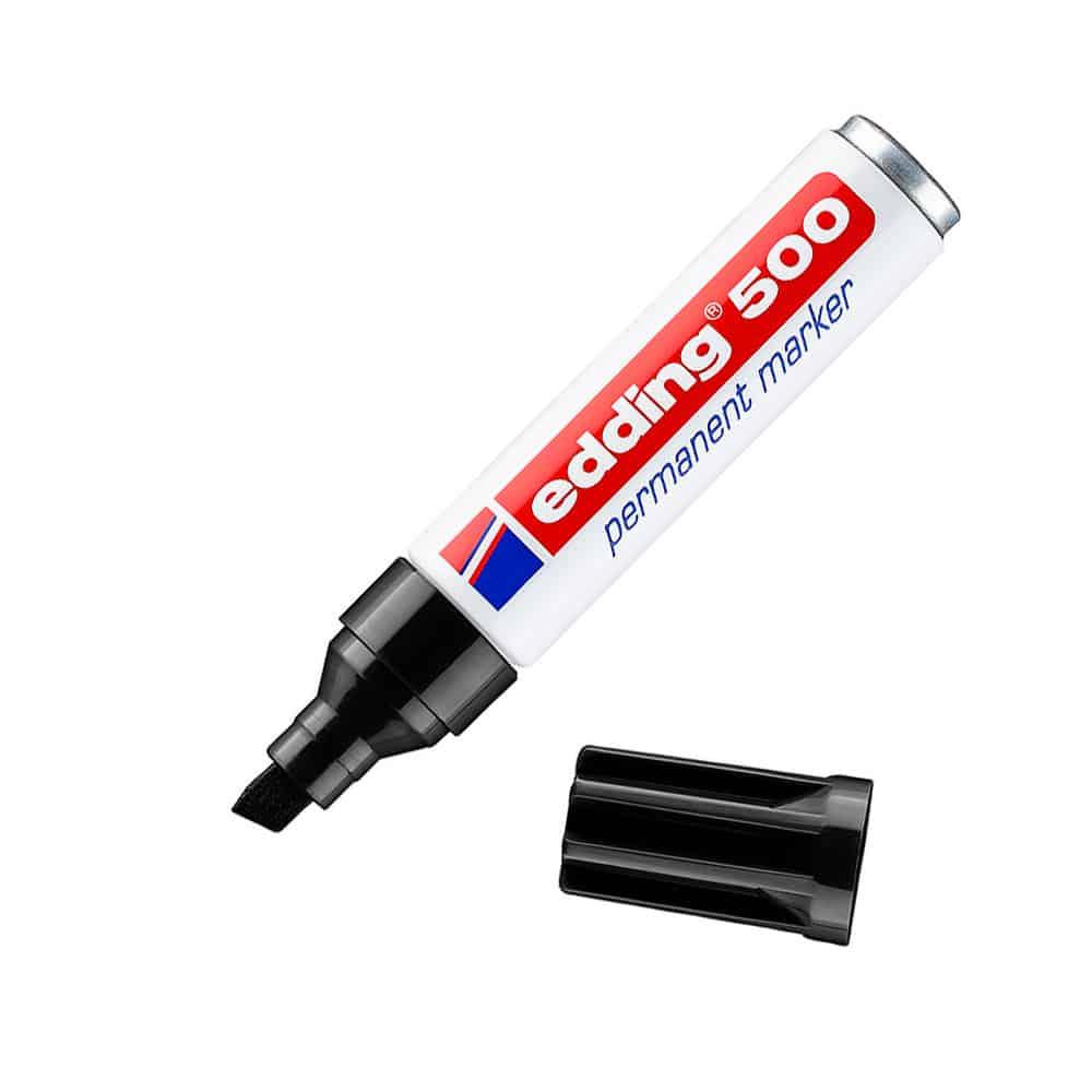 color negro Rotulador de punta fina Edding 1200-01