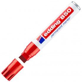 Marcador Rojo Edding 850