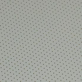 Papel Regalo Blanco con Topos Brillantina Oro