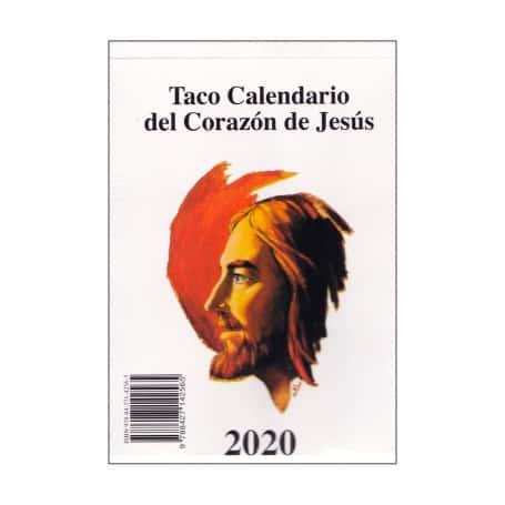 Taco de Pared 2019 Corazón de Jesús