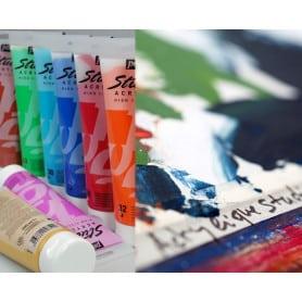 Acrílico Fino Studio Colores Tradicionales 100 ml Pebeo
