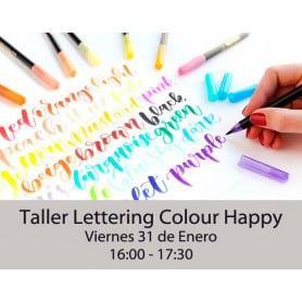 Lettering Colour Happy Viernes 17:00-18:30