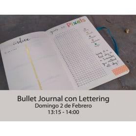 Bullet Journal con Lettering Domingo 13:15-14:00