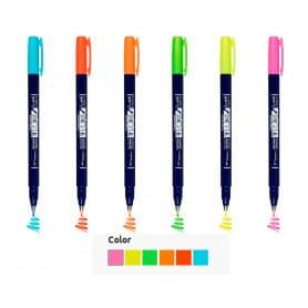 Rotulado-Colores-Neón-Fudenosuke-Tombow-Goya